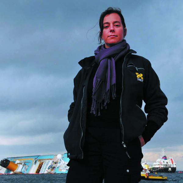 Oud-leerling Sylvia Tervoort is bergingsinspecteur