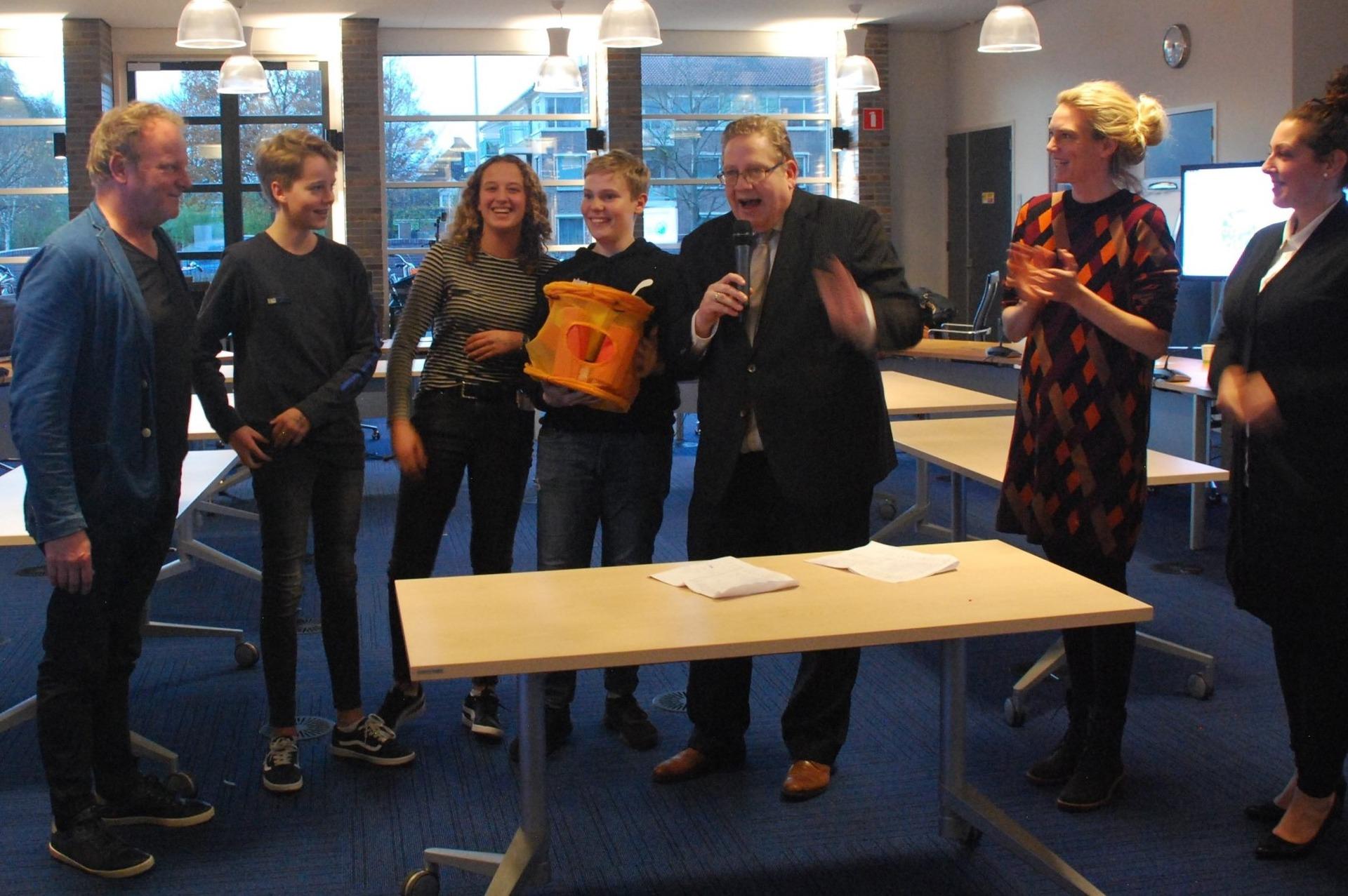 Kuub Blokkenspel wint wedstrijd – ontwerp een product gemaakt van afval
