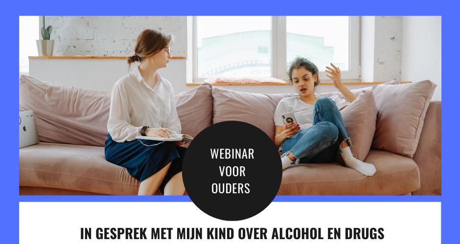Webinar Brijder Jeugd: In gesprek met mijn kind over alcohol & drugs