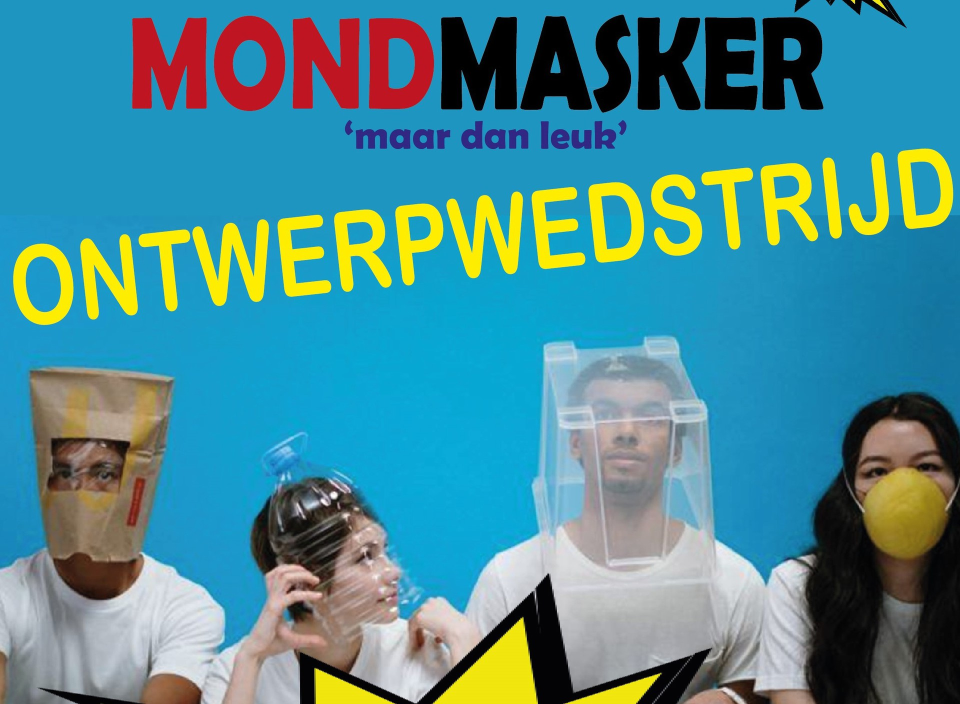Doe mee aan de Bonhoeffer Mondmasker 'maar dan leuk' ontwerpwedstrijd!