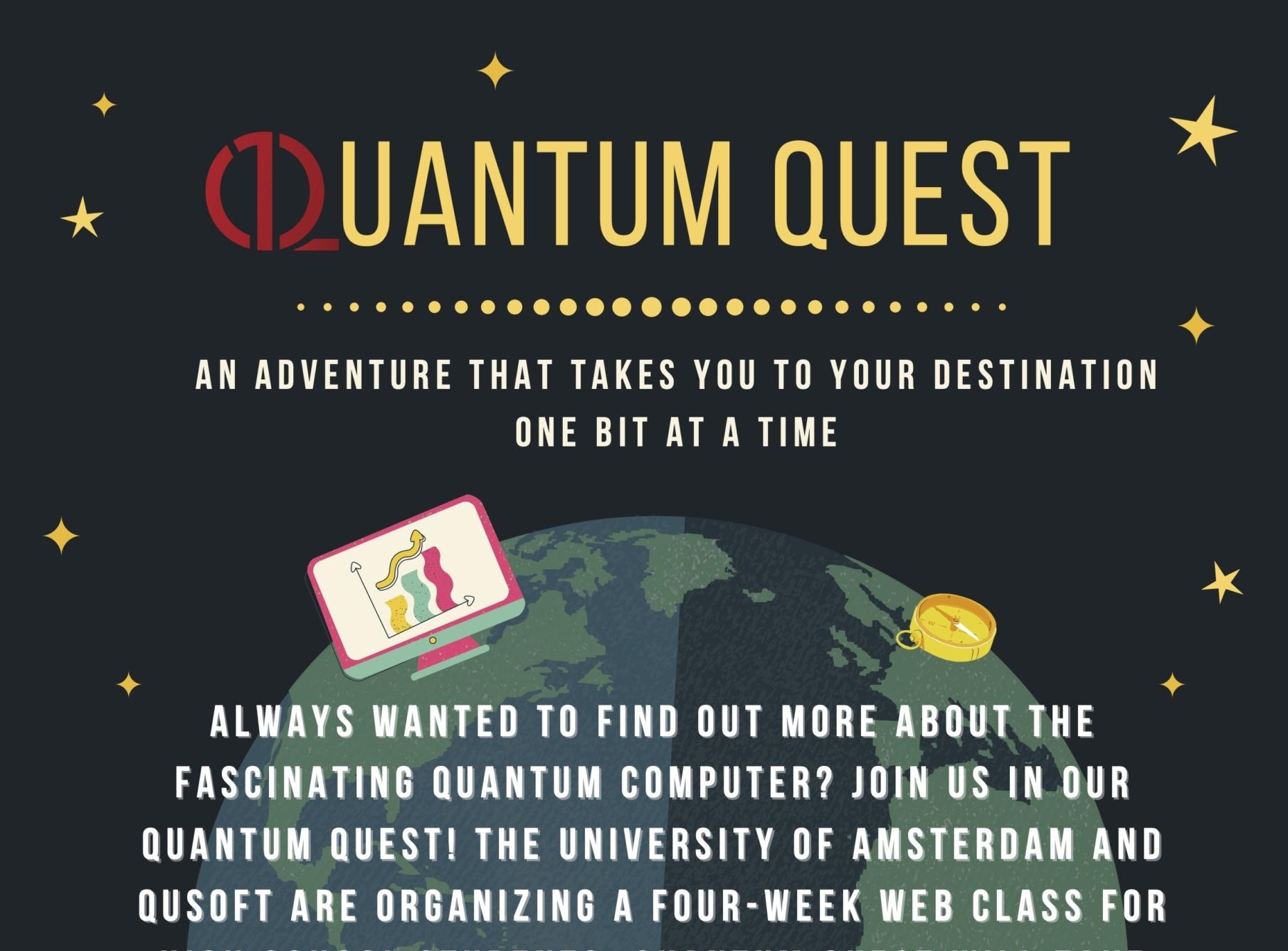 Succesvolle deelname aan Quantum Quest door wiskunde D-leerlingen